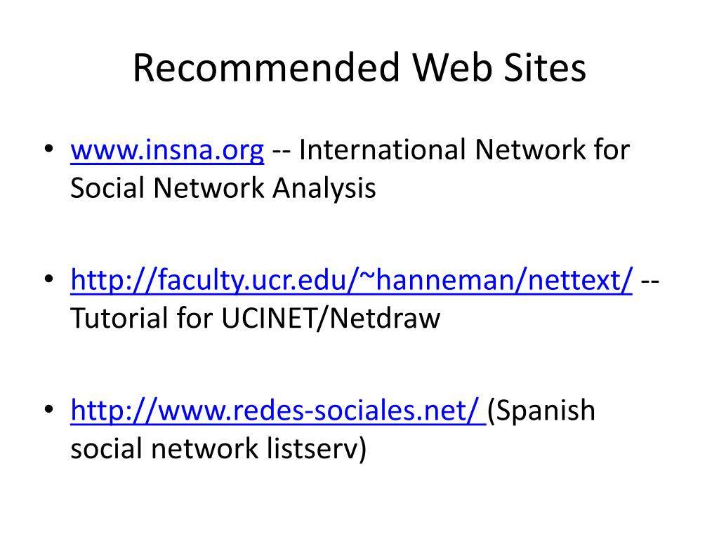 PPT - Social Network Analysis PowerPoint Presentation - ID