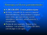 fitoterapia en ulceras gastrointestinales