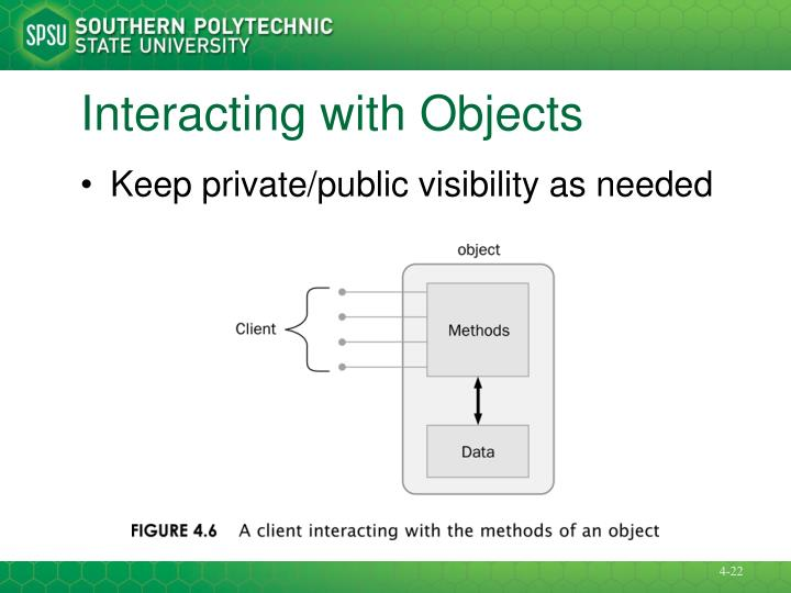 Interacting with Objects