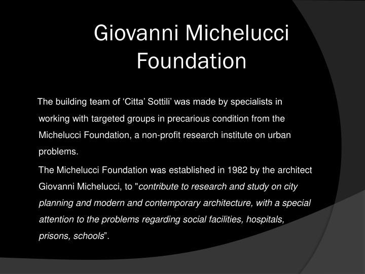 Giovanni Michelucci Foundation