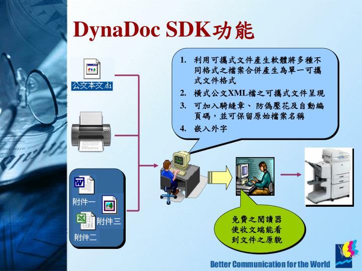 利用可攜式文件產生軟體將多種不同格式之檔案合併產生為單一可攜式文件格式