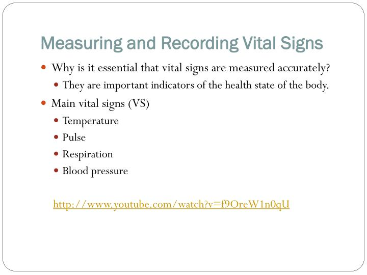 ppt - name the four main vital signs powerpoint presentation - id, Powerpoint templates
