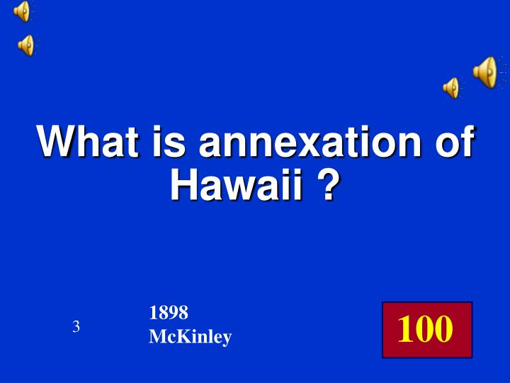 What is annexation of