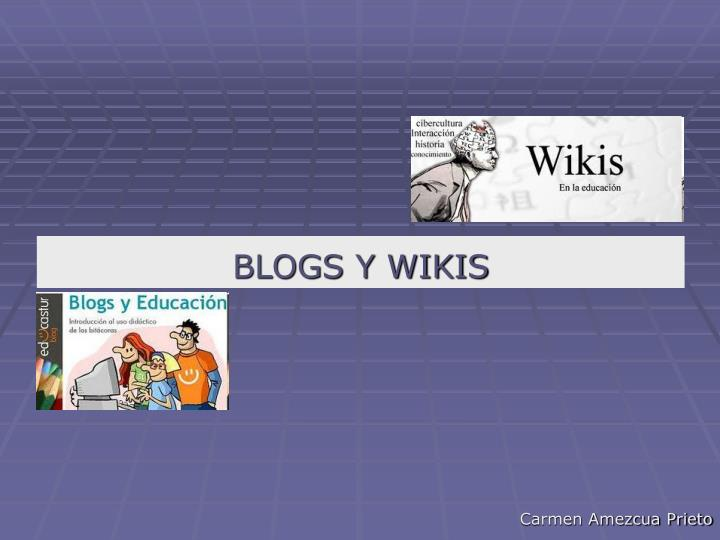 blogs y wikis n.