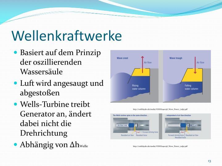 PPT - Neue Ansätze für Wasserkraftanlagen PowerPoint Presentation ...