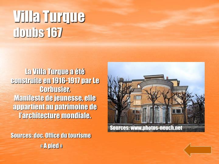 Villa Turque