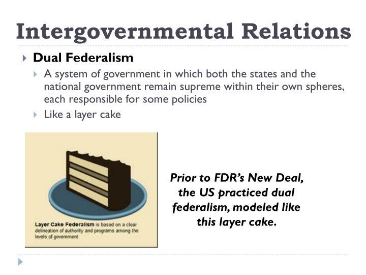 define dual federalism
