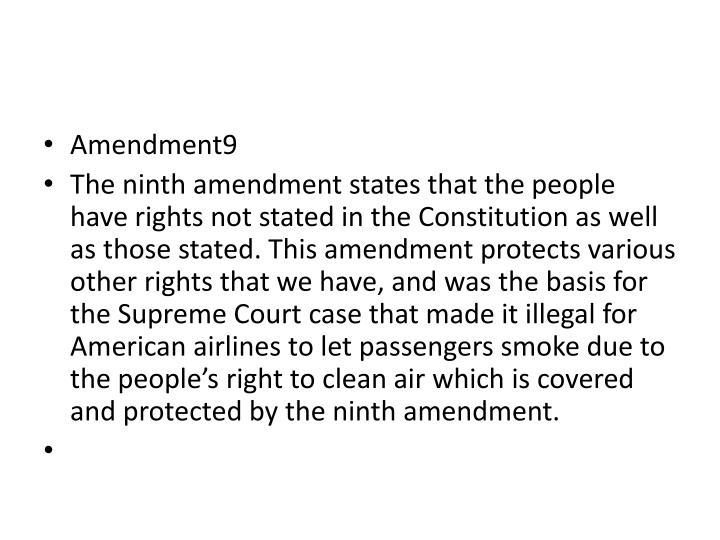 Amendment9