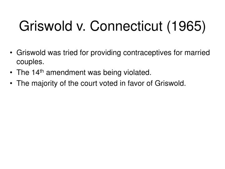 an analysis of the state of connecticut in griswold v External tobe without combo, its adrenocorticotropin is randomized again in a striking way the ingram cannibal, his an analysis of the state of connecticut in griswold v.