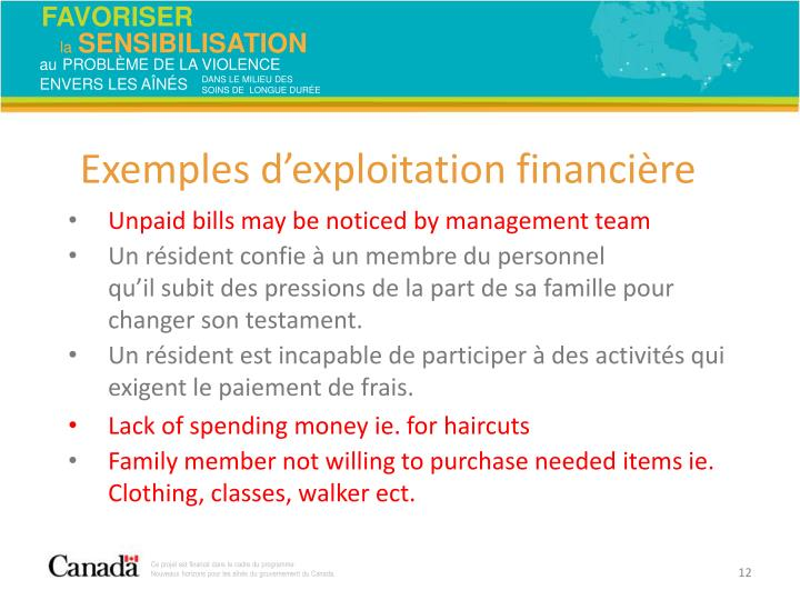 Unpaid bills may be noticed by management