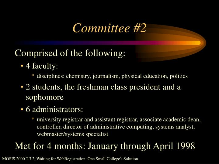 Committee #2