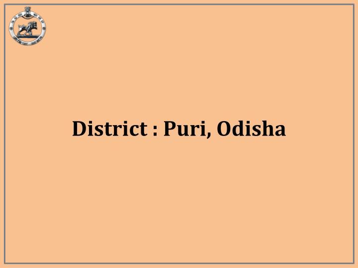 District : Puri, Odisha