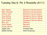 tuesday dec 6 pd 2 rossiello a111