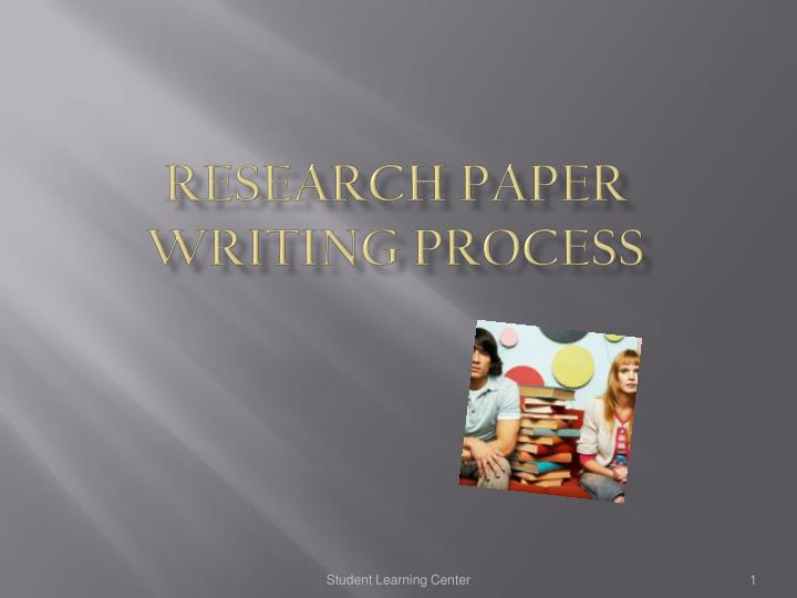 research paper writing process n.