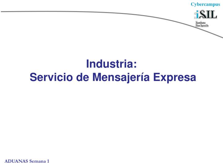 Industria: