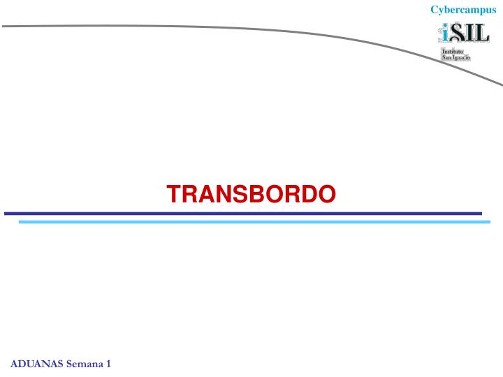 TRANSBORDO