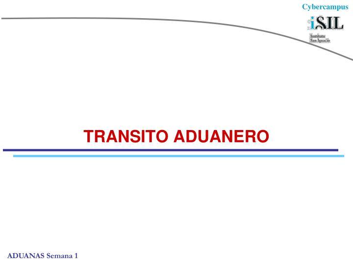 TRANSITO ADUANERO