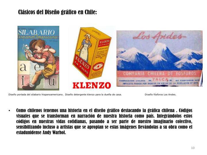 Clásicos del Diseño gráfico en Chile: