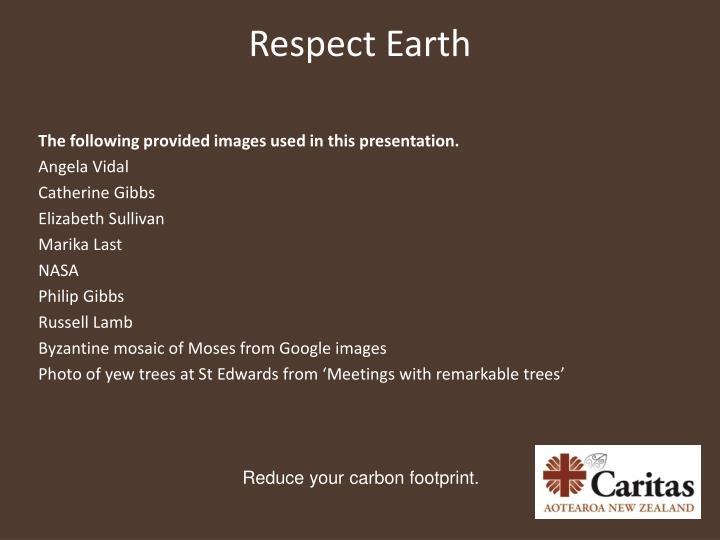 Respect Earth