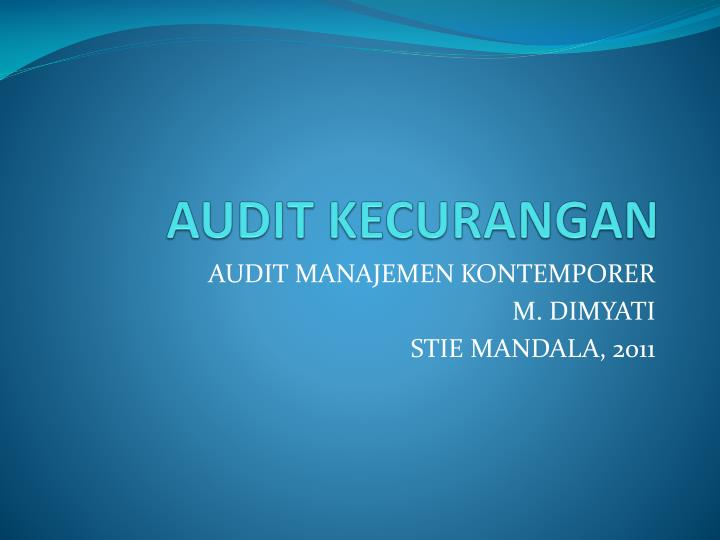 audit kecurangan n.