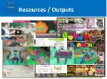 resources outputs1
