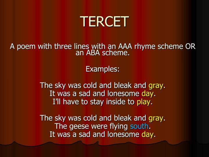 TERCET
