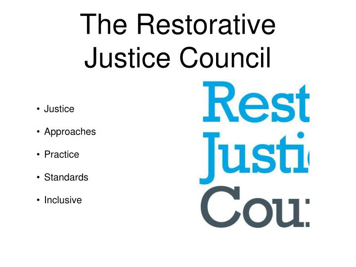 The Restorative Justice Council