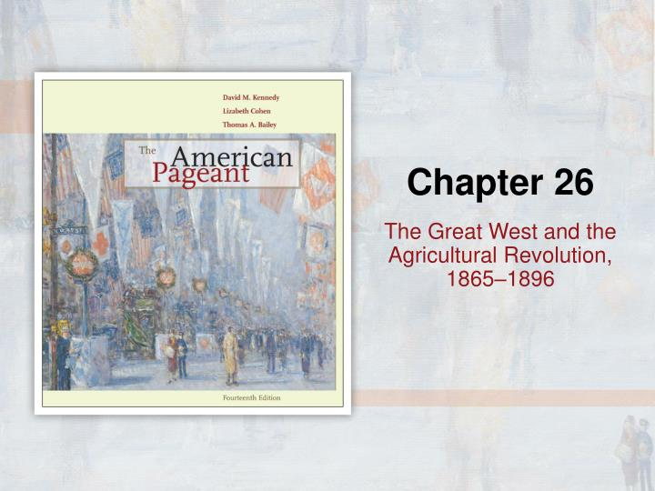 the great west and the agricultural revolution 1865 1896 n.