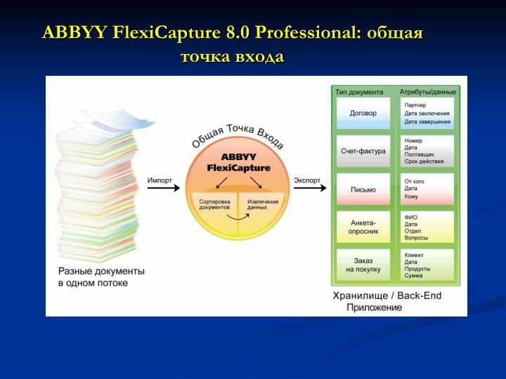 ABBYY FlexiCapture 8.0 Professional: