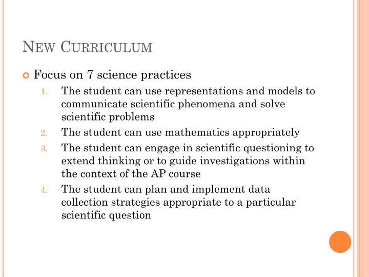 New curriculum1