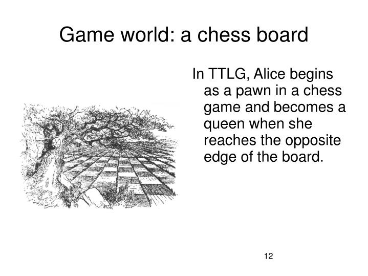 Game world: a chess board