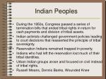 indian peoples