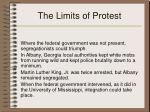 the limits of protest