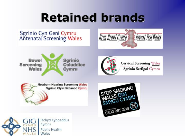 Retained brands