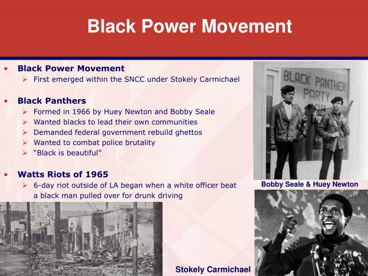 black power movement thesis statement Key numbers, demographics, & statistics from civil rights movement: black power era by the numbers us population in 1970: 203,211,926 black population in 1970: 22,580,289 (11%)1 estimated number of blacks registered to vote2.