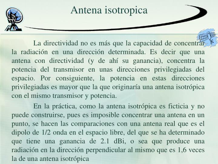 Antena isotropica