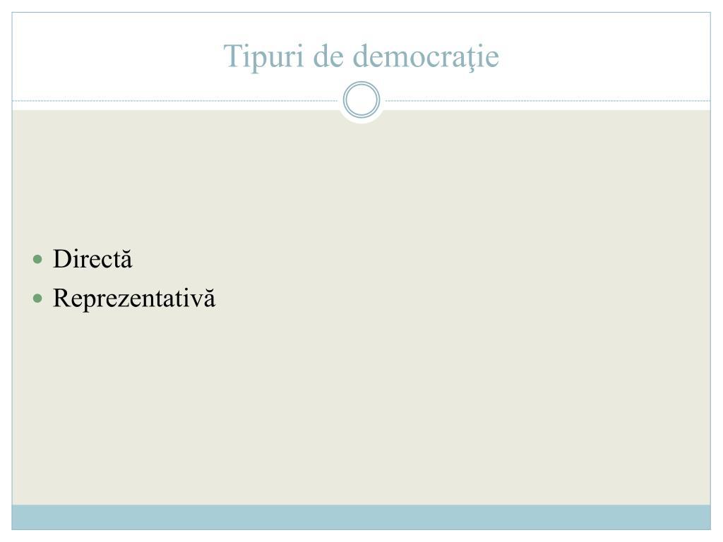 Principiile democratiei