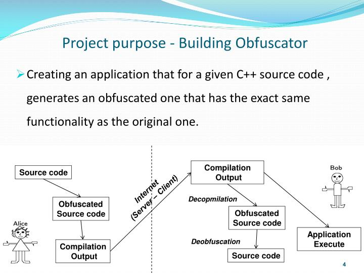 Project purpose -