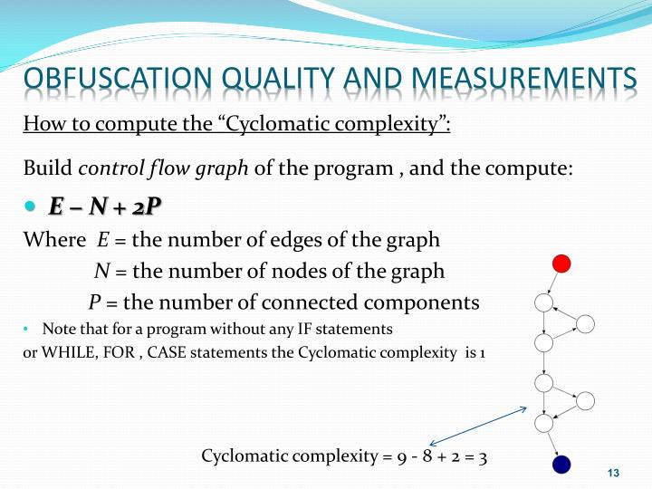 Obfuscation Quality and Measurements