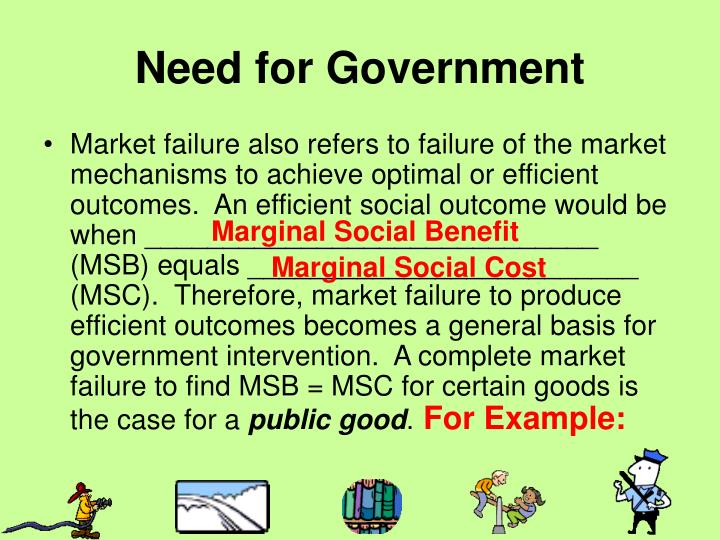 Need for Government