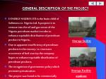 general description of the project