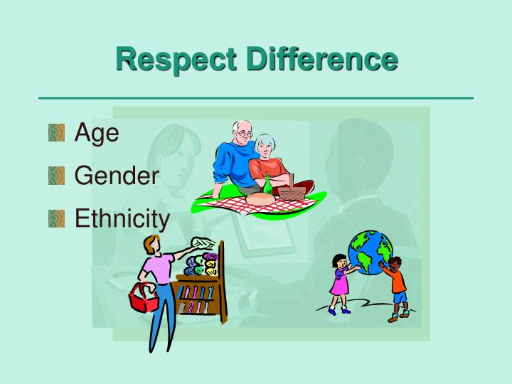Respect Difference