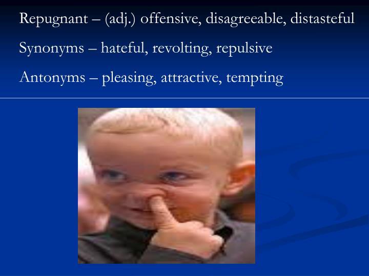 Offensiv Synonym