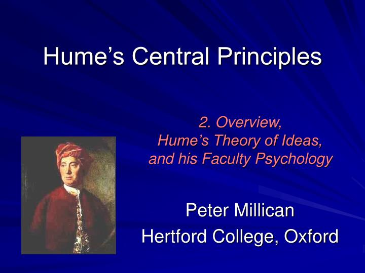 hume s central principles n.