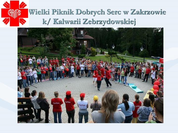 Wielki Piknik Dobrych Serc w Zakrzowie
