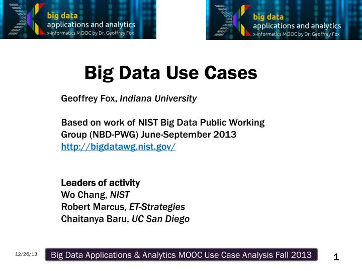 big data use cases n.