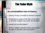 the tudor myth2