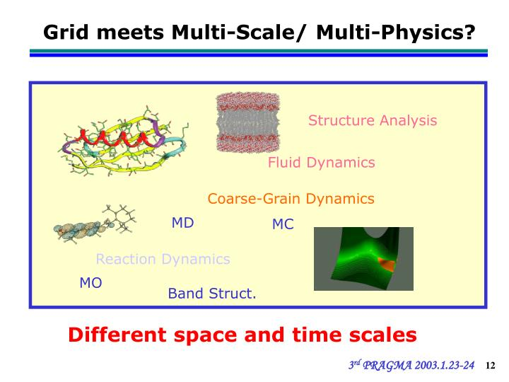 Grid meets Multi-Scale/ Multi-Physics?