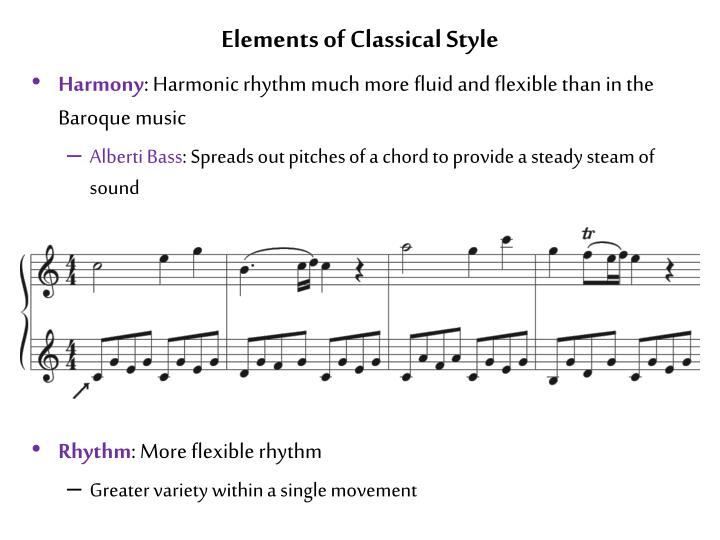 Elements of Classical Style