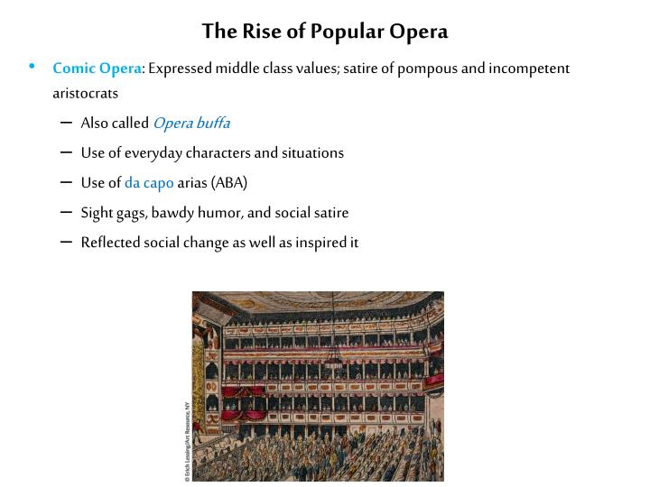 The Rise of Popular Opera